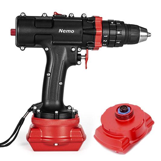 Underwater Hammer Drill